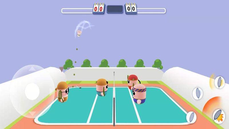 3d羽毛球之谁羽争锋手机免费下载