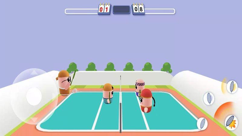 3d羽毛球之谁羽争锋免费下载