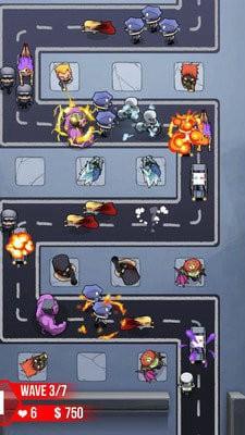 超级英雄塔防游戏中文版