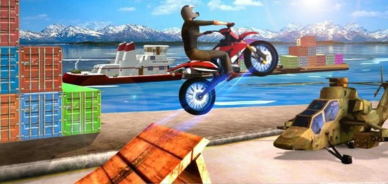 摩托车竞技游戏下载