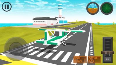 组装飞机模拟器手游