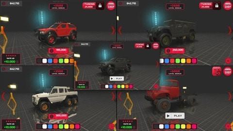 越野工程车辆游戏下载