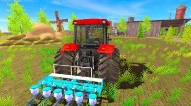 农田拖拉机耕作中文版游戏下载