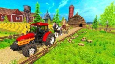 农田拖拉机耕作安卓版游戏下载