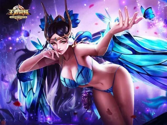 王者荣耀女英雄正能量2000张 王者荣耀女性英雄正能量图片2000张9