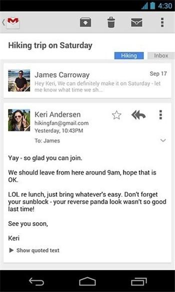 gmail下载安卓版