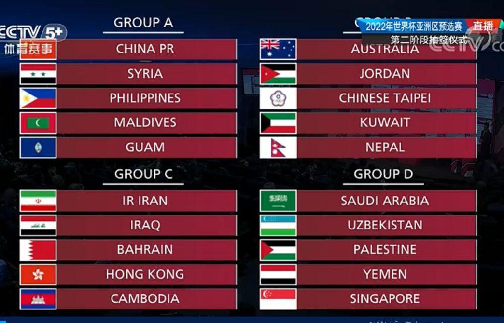 世界杯预选赛中国队
