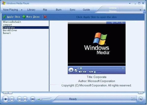 windows media player官方下载安装