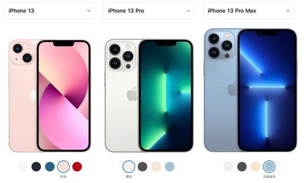 iphone13和iphone13pro/iphone13pro max哪个好1